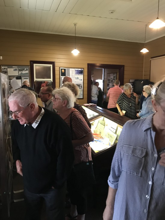 Image taken by John Petersen this weekend at Black Diamond Heritage Centre's Seniors Week event